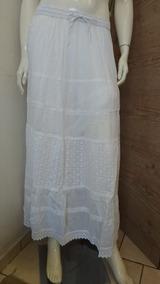 679aac714d Saia Indiana - Femininas Saias Longas Branco ao melhor preço no ...