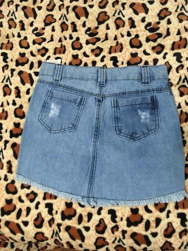 saia jeans destroyed