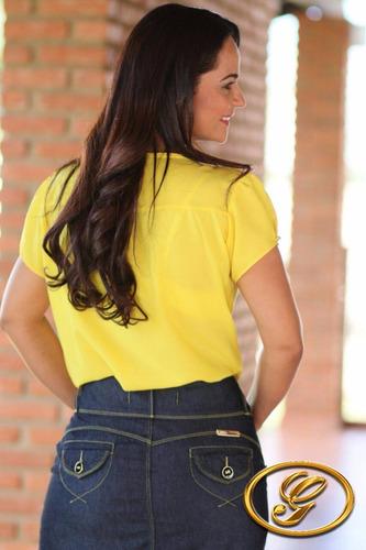 saia jeans longa gn