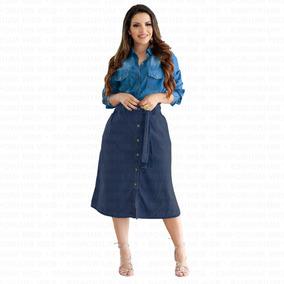 9f0ce3092b Saias Jeans Atacado Goiania Femininas Gode - Saias ao melhor preço no  Mercado Livre Brasil