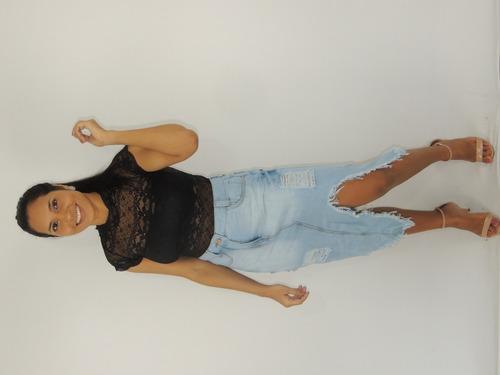 saia jeans moda premium