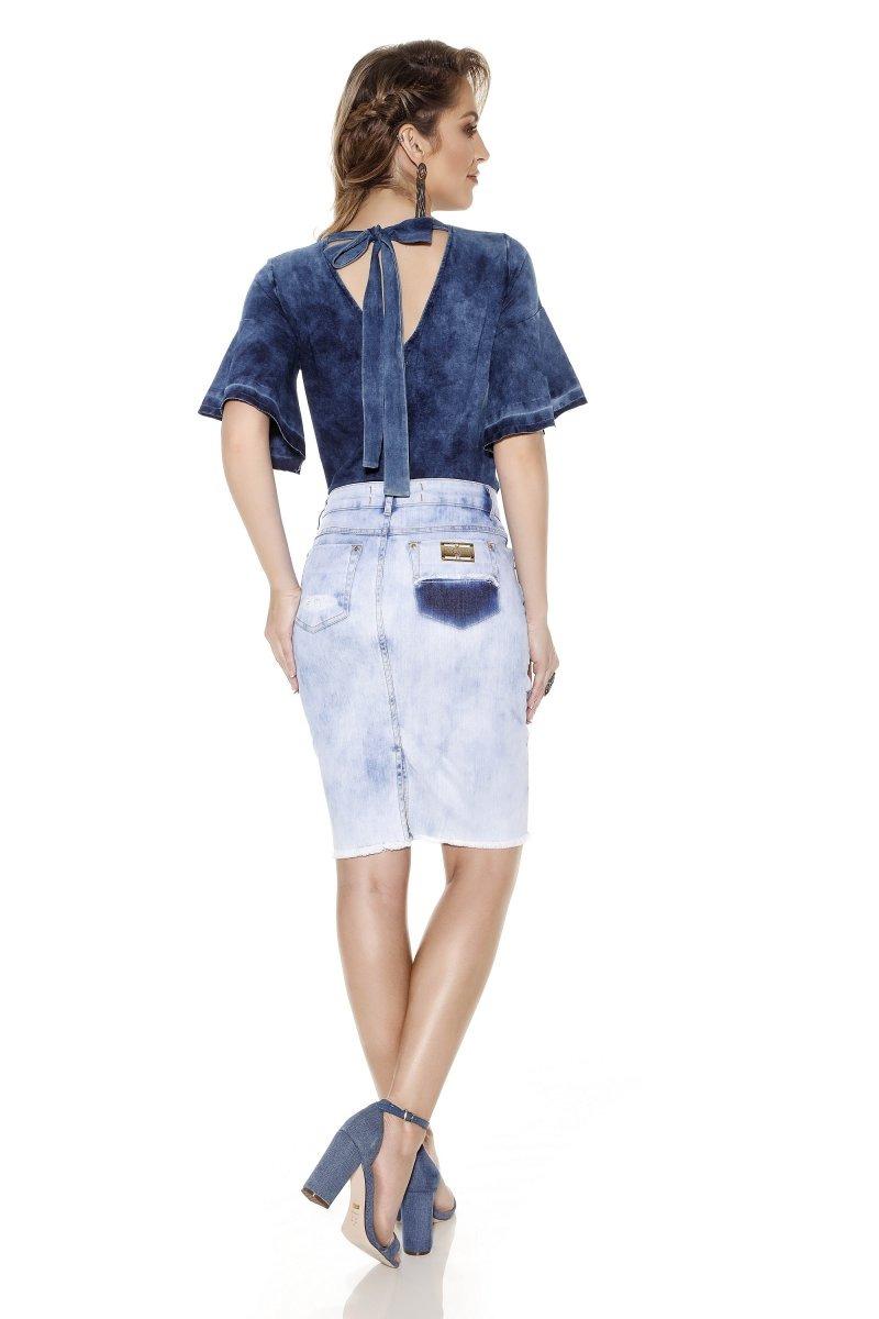 2bbdd55cb1 saia jeans titanium moda evangelica. Carregando zoom.