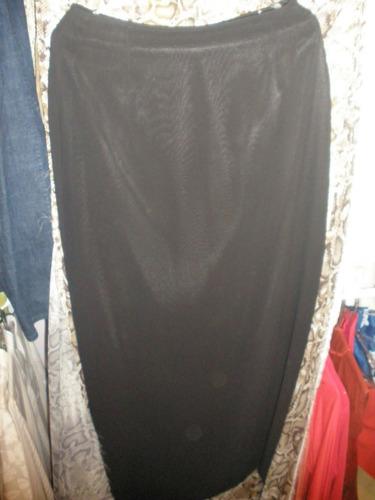 saia longa elegante com fenda trazeira muito elegante 36