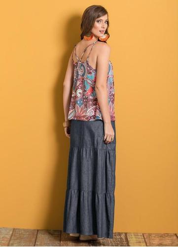 saia longa feminina
