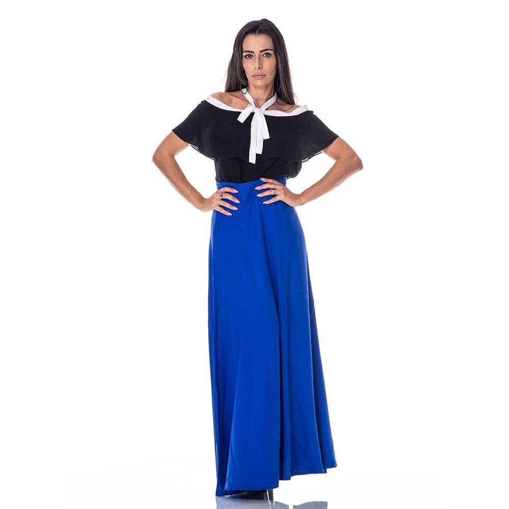 96828cabead saia longa feminina moda evangelica. Carregando zoom.