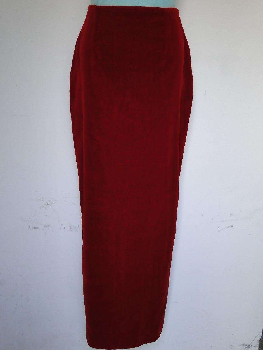 d4946d9d0 Saia Longa - Veludo Vermelho - R$ 25,00 em Mercado Livre
