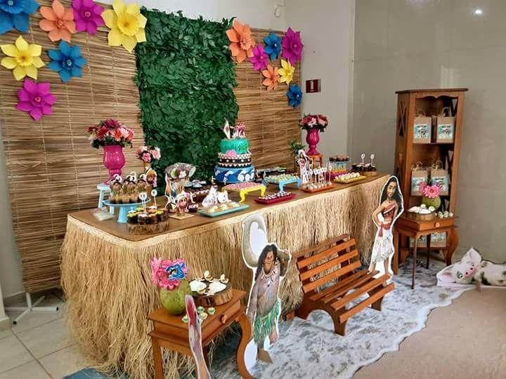 Saia Moana Mesa Festa Decoraç u00e3o 5 M Havaiana Ler Anuncio R$ 310,00 em Mercado Livre -> Decoração De Festa Havaiana Simples