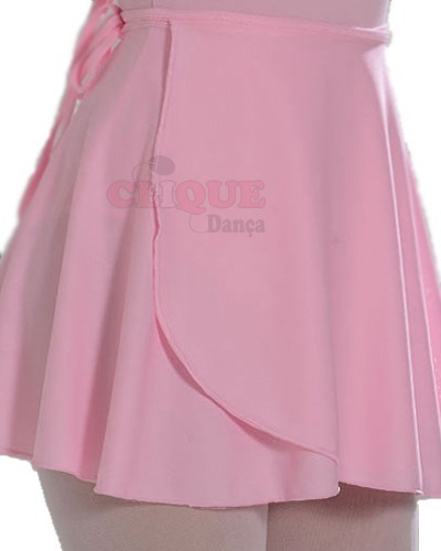 bde94f0f40 Saia Para Ballet Helanca Light Infantil - R  20
