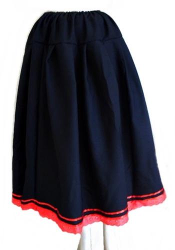 saia preta e vermelha pombagira - umbanda e candomblé