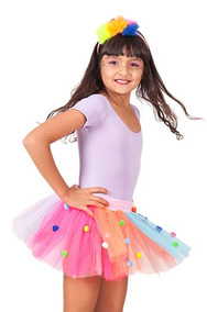 80b4889d68 Saia De Tule Colorida Infantil no Mercado Livre Brasil