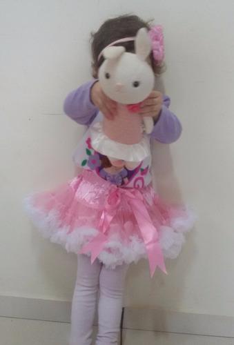 saia tutu tule ensaio fotográfico fantasia infantil princesa