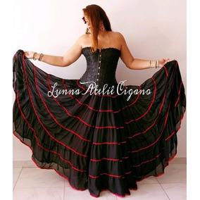 9afbeddd1a Saia Longa De Flamenco - Calçados