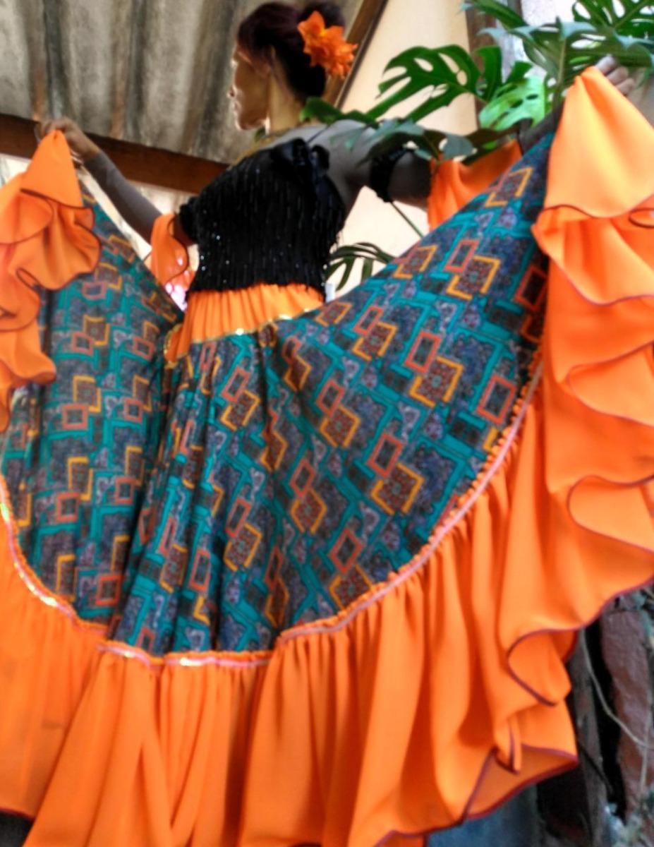 1bd3a9985f Saias-ciganas-trajes-fantasia-eventos-dança-cigana-roupas- - R  450 ...