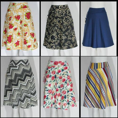 saias midi roupas femininas
