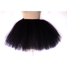 a7c7b9dab5 Saia Tutu Balé Ballet Fantasias Variadas Tule Preto Adulto · R  94 90