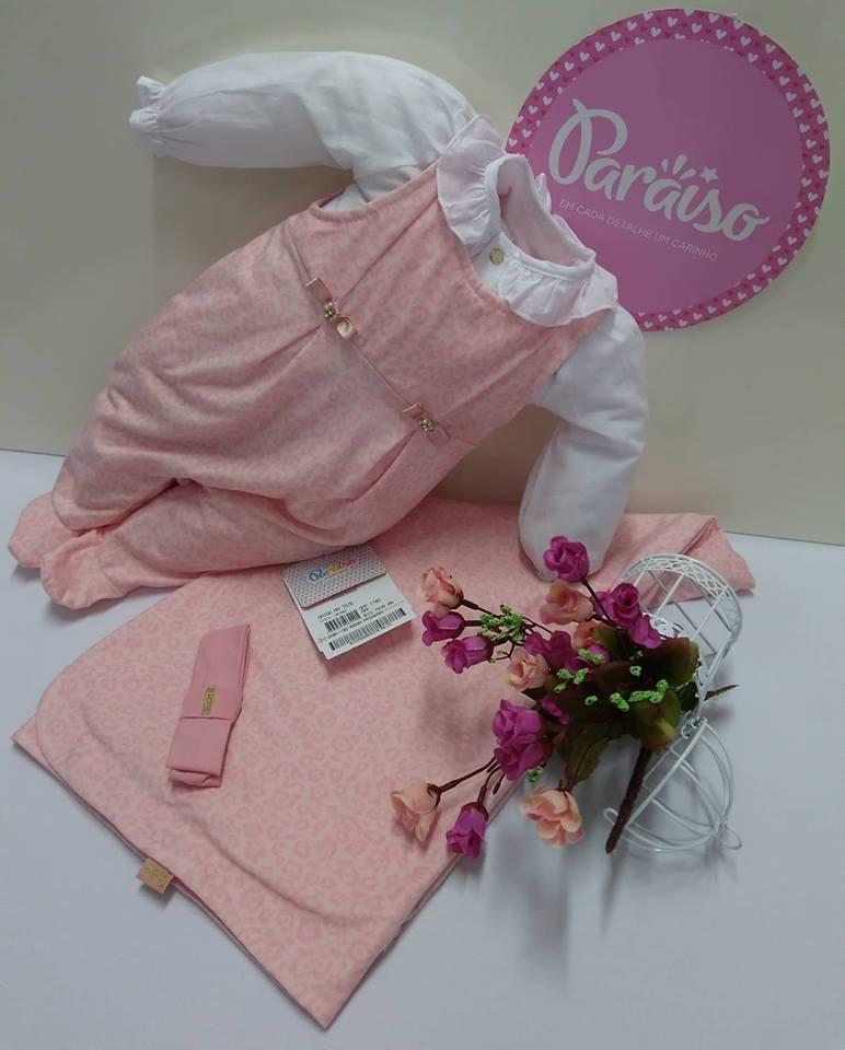 906b17b112069 saida de maternidade luxo paraiso bebê menina rosa ref 7978. Carregando zoom .