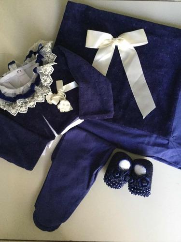 saída de maternidade marinho princesa luxo