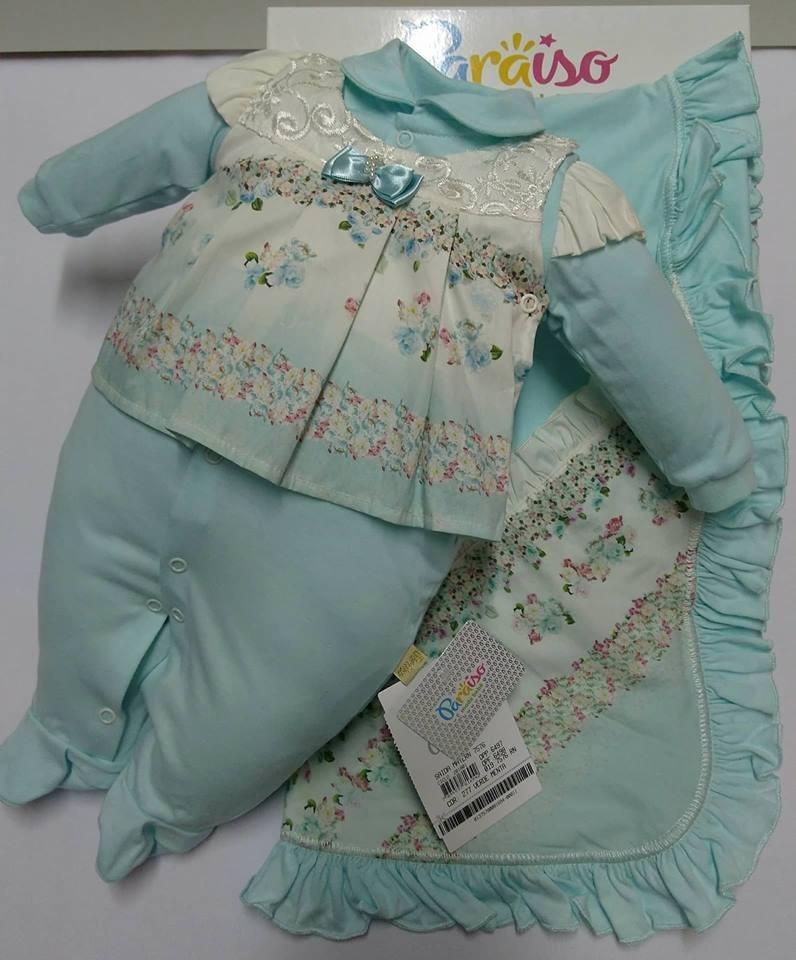 895777bde9 saida de maternidade paraiso bebê menina macacão cod 7576. Carregando zoom.