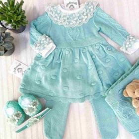 Saída De Maternidade Peonia Verde
