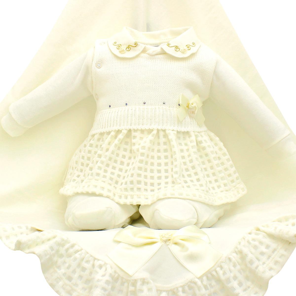 0b4025c206 saída de maternidade sonho mágico rosinhas plush creme. Carregando zoom.