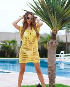 f922828a3 Blusa Para Colocar Em Cima Do Vestido - Moda Praia com o Melhores ...