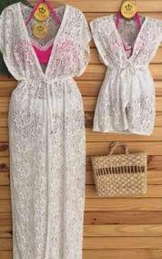 4dc30a1357c0 Vestido Para Mae E Filho Iguais - Cangas de Praia com o Melhores Preços no  Mercado Livre Brasil