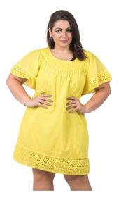 7e9c21553fcb Colant Feminino De Renda Amarelo - Moda Praia com o Melhores Preços no Mercado  Livre Brasil