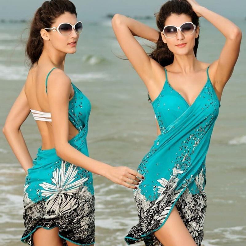 14a577ba9bfe Saída De Praia Vestido Canga Verão Piscina Moda - R$ 69,00 em ...