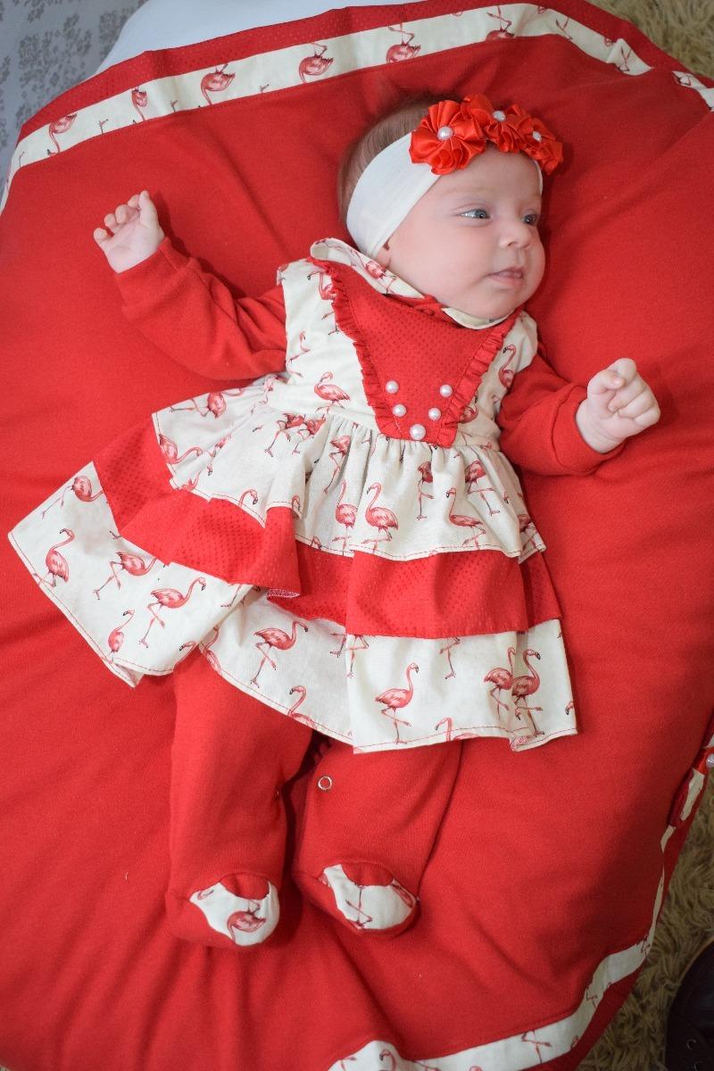575cb4fe6 saída maternidade menina anny 5 peças 100% algodão. Carregando zoom.