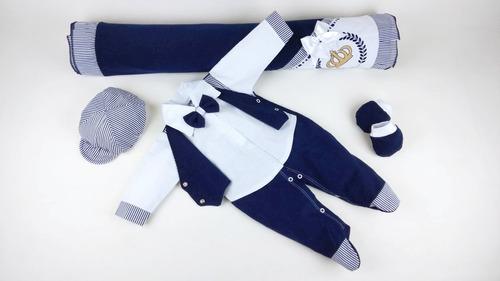 saida maternidade menino menina elegance  principe  5 pçs