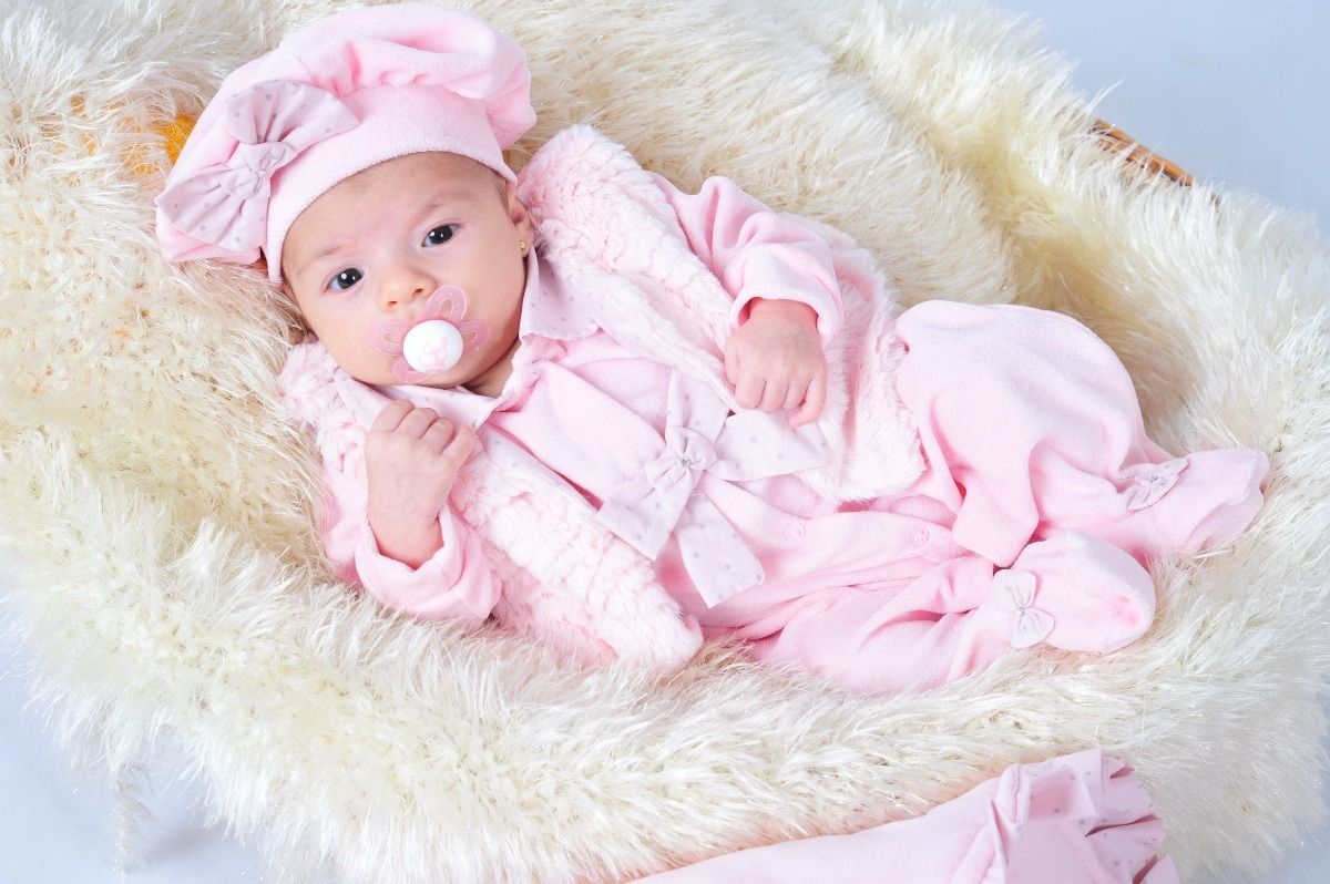 saída maternidade plush menina saco de dormir. Carregando zoom. a9089af581a