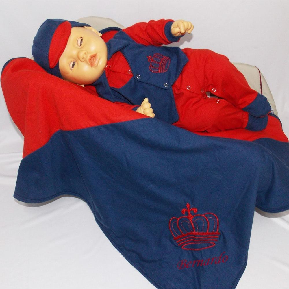 9a635d7eaa3a Saída Maternidade Príncipe Com Nome Do Bebê - R$ 99,00 em Mercado Livre