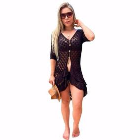 b35f8b940178 Blusa Vestido Saida Praia - Calçados, Roupas e Bolsas com o Melhores Preços  no Mercado Livre Brasil