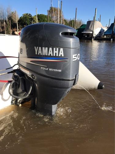 sail master 4.80 yamaha 50hp 4t con 15 horas nuevo !!!