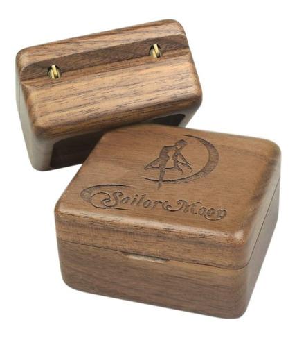 sailor moon caja musical de madera de nogal sinzyo vintage