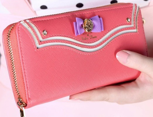 sailor moon - cartera - samantha vega monedero billetera