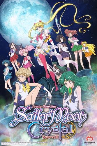 sailor moon crystal serie completa bluray