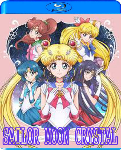 sailor moon  crystal serie completa en bluray subt.