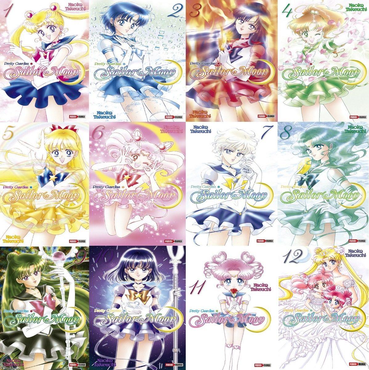 Sailor Moon Manga Panini Español Completo 12 Tomos - $ 1,145.00 en ...