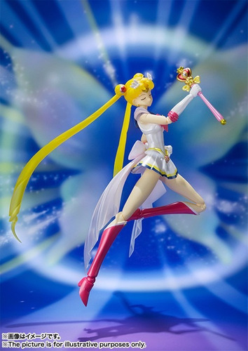 sailor moon super - s.h.figuarts - bandai