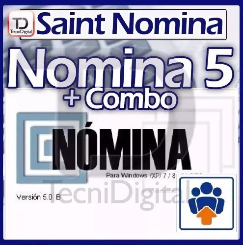 saint combo software administrativo + contabilidad + nomina