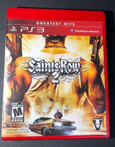saint row 2 -juego -ps3