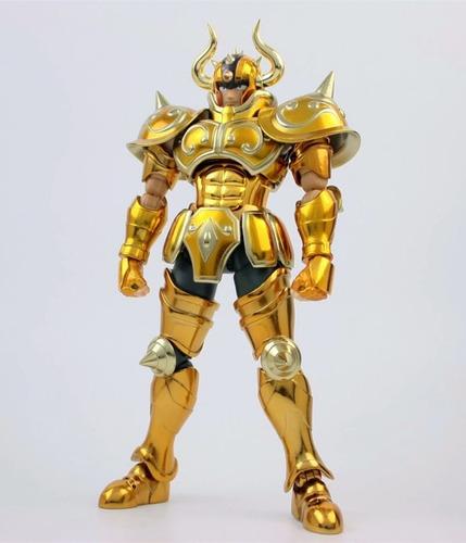 saint seiya aldebaran de tauro metal club armadura metalica