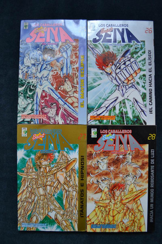 saint seiya caballeros del zodiaco colección completa manga