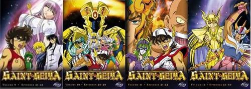 saint seiya dvd edición de adv films colección completa
