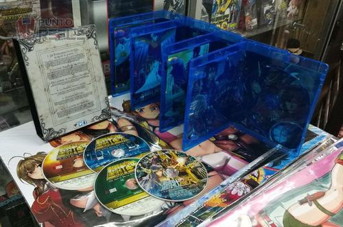 saint seiya movie collection bluray box