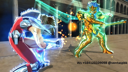 saint seiya soldiers soul caballeros juego digital ps3
