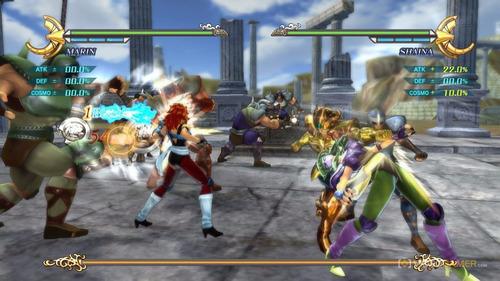 saint seiya: soldiers' soul juego digital ps3