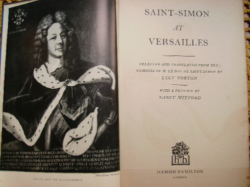 saint simon at versailles - en ingles