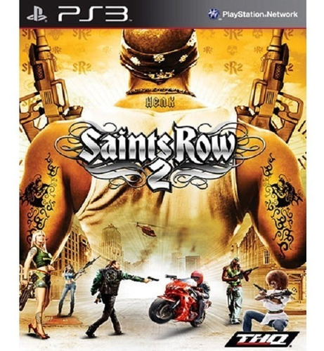 saints row 2 ps3 playstation psn